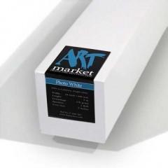 """PhotoWhite 270 gsm, 100% cellulóz, ragyogó fehér, matt, 24""""/610 mm x 5 m tekercs"""