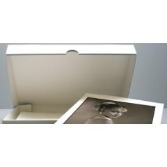 Arciváló doboz 3 mm B - Hullámú 430 x 315 x 35 mm