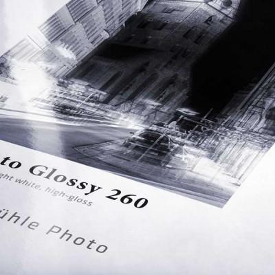 "260 g/m² 17""/432mm x 30m Hahnemühle Photo Glossy"