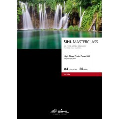 "SIHL MASTERCLASS Metallic Pearl High Gloss Photo Paper 290 gsm 17"" / 432 mm x 15 m tekercs"