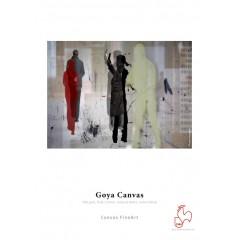 """Goya Canvas 340 gsm, Poly-Pamut, természetes fehér,  selyemfényű, 24""""/610 mm x 12 m tekercs"""