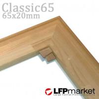 Classic65 (65x20) vakráma lécek