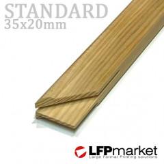 Standard35 vakráma léc, 20cm