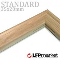 Standard35 vakráma léc